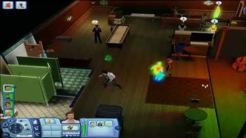 Demostracion de Los Sims 3 Al Caer la Noche
