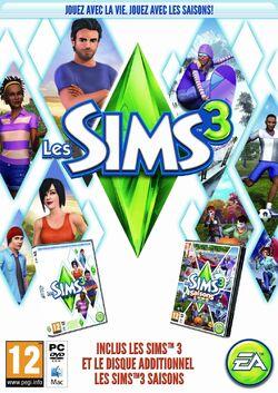 Jaquette Les Sims 3 Plus Saisons
