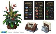 Les Sims 4 Au restaurant Concept art 02