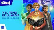 Los Sims 4™ Y El Reino de la Magia tráiler oficial