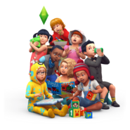 TS4 Toddlers Render