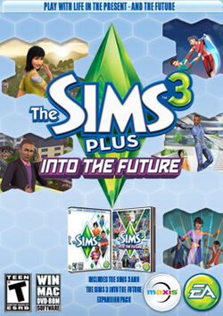 The Sims 3 Plus Into the Future Cover