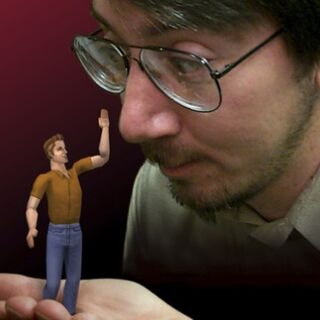 Will Wright con un Sim
