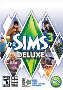 Jaquette Les Sims 3 Deluxe (US)