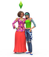 The Sims 4 Parenthood Render 03