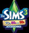 De Sims 3 70s, 80s & 90s Accessoires Logo