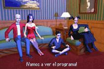 Familia Lápida en Los Sims 2 GBA