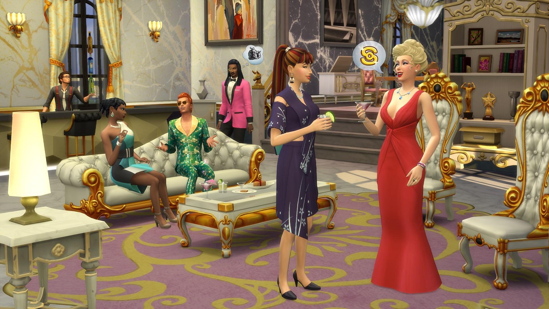 Famosos en Los Sims 4