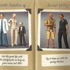 Примечательные семьи в Сансет Вэлли