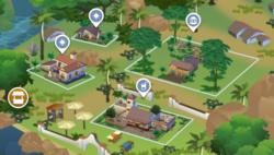 Puerto Llamante Marketplace Map