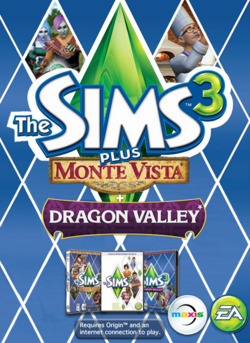 The Sims 3 Plus Monte Vista and Dragon Valley