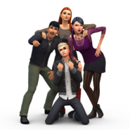 The Sims 4 Get Together Render 08