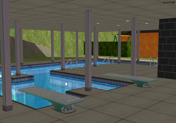 Amar's Clothing and Instruments first floor swimming pool 1