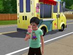 Freezer Bunny popsicle and shirt