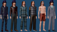 Gunther Goth ts3 wardrobe