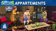 Les Sims 4 Vie Citadine bande-annonce officielle sur les appartements
