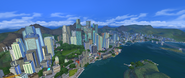 San Myshuno panorama view