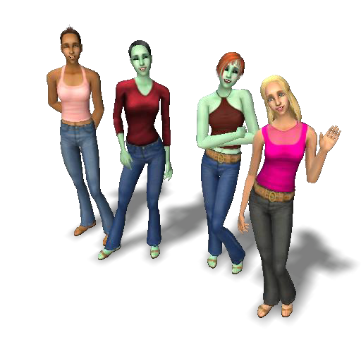 The Sims 2 Logo  Singles household. Singles household   The Sims Wiki   FANDOM powered by Wikia