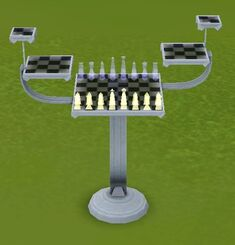 Azad's Holo-Chess Table by Korben Computing