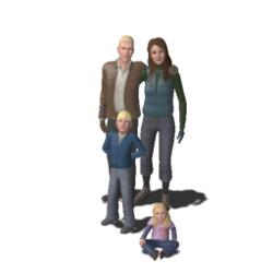 Famille Pipette (Les Sims 3)