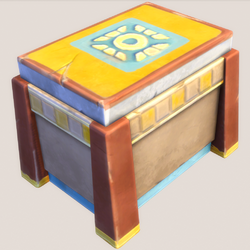 Gilded Omiscan Treasure Chest