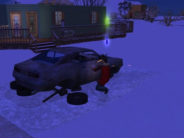 File:Working on broke down car.jpg