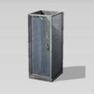Cabina de ducha Inspiración Industrial