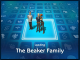 Loading screen of Beaker family