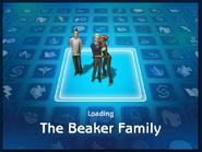 Loading screen of Beaker family
