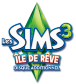 Logo Les Sims 3 Île de Rêve