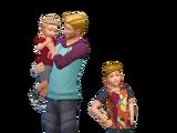 Семья Флинн (The Sims 4)