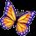 Бабочка-данаида (иконка)