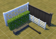TS4 base game fences
