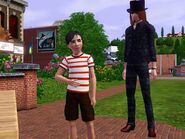 Мортимер и Гунтер Гот (The Sims 3)