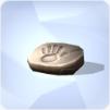 Main de Sim fossilisée