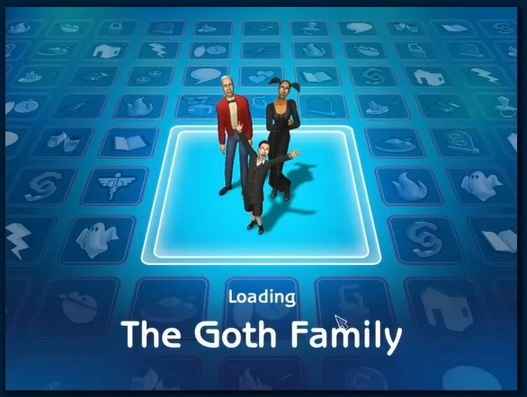File:Loading screen of Goth family.png