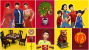 The Sims 4 Lunar New Year Screenshot