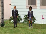 Одежда школьников частной школы