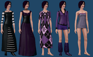 Cornelia Goth ts3 wardrobe