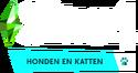 De Sims 4 Honden en Katten Logo V2