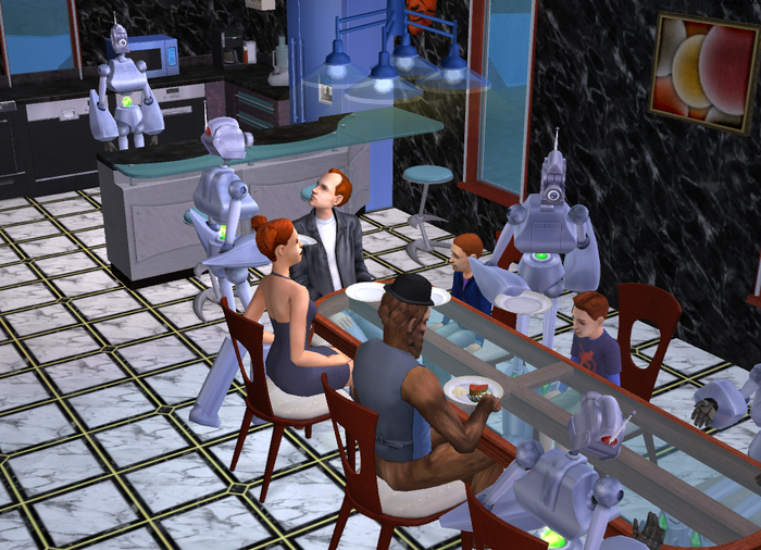 Dinner at the Newbies 3