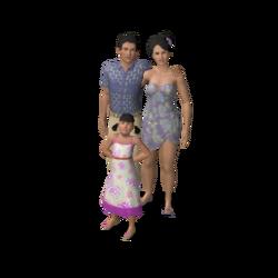Kahale familie (Sunlit Tides)