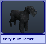 Kerry Blue Terrier (Sims 2)