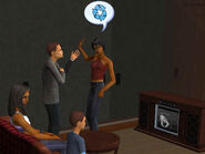 Sharon and Issac Argue