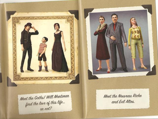 The Perfect Sims Family - xsonarms's diary