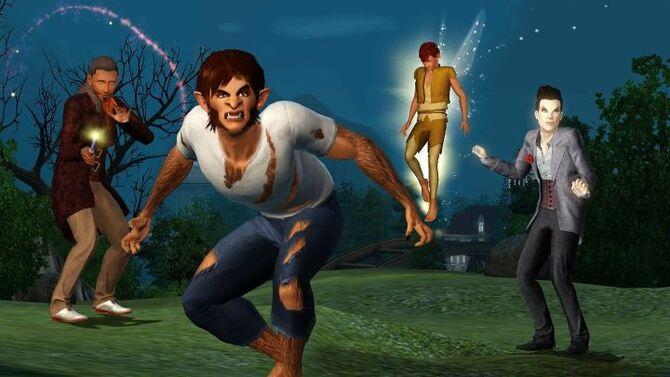 Sims 3 supernatural dating