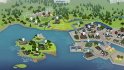 Windenburg kaart