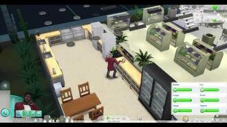 Sim baking edibles for the Grocery Department store Bakery Cafe Restaurant-0