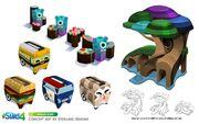 Les Sims 4 Bambins Concept art 1
