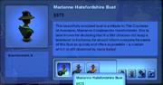 Marianne Hatsfordshire Bust